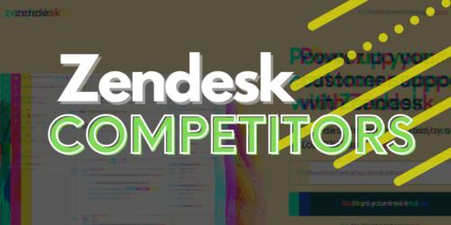 Zendesk Competitors