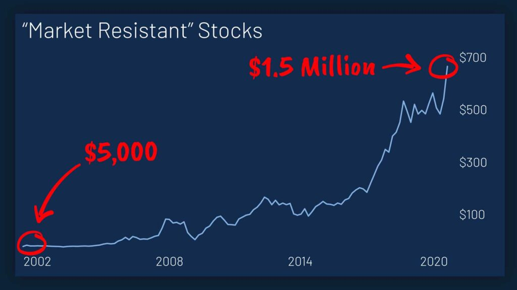 jeff brown market resistant stocks