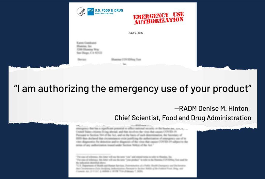 near future FDA emergency use