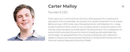 AcreTrader Review Carter Malloy
