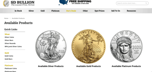 SD Bullion Review: How it works