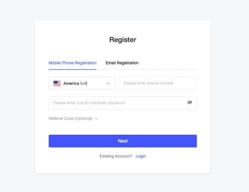 Bingbon Review: Registration