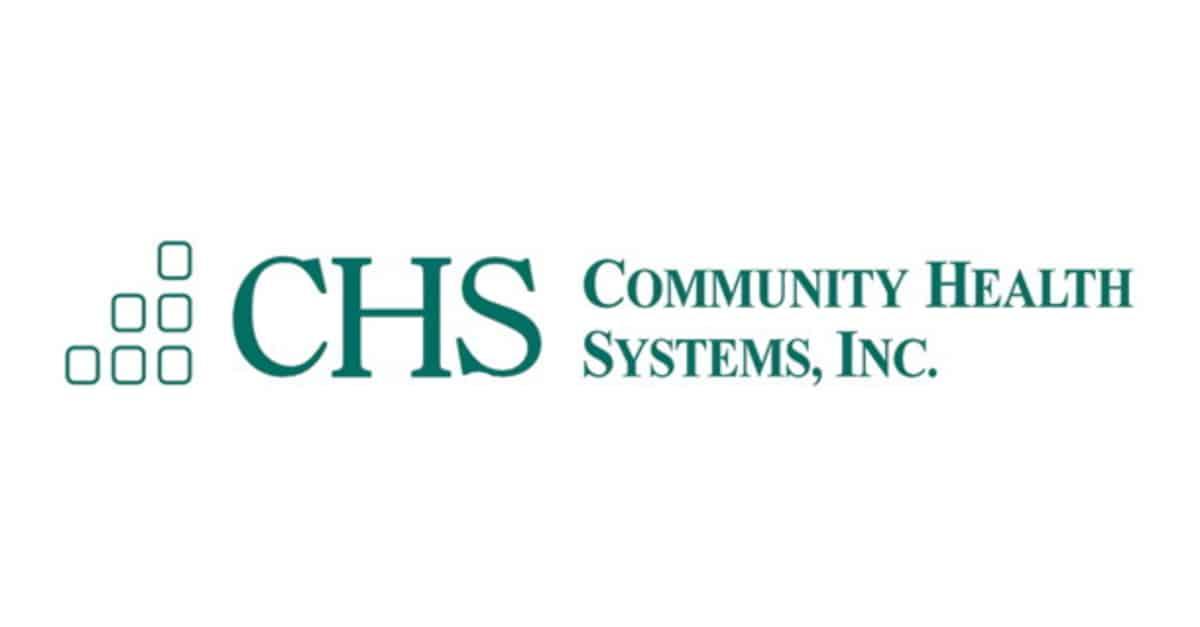 hospital stocks community health systems
