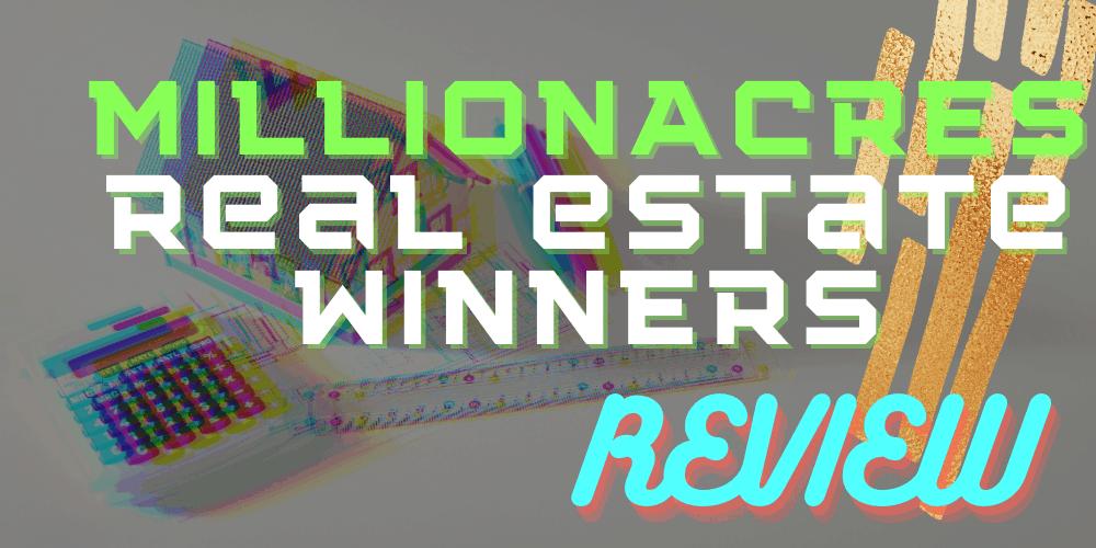 Millionacres Real Estate Winners featured
