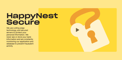 HappyNest review security