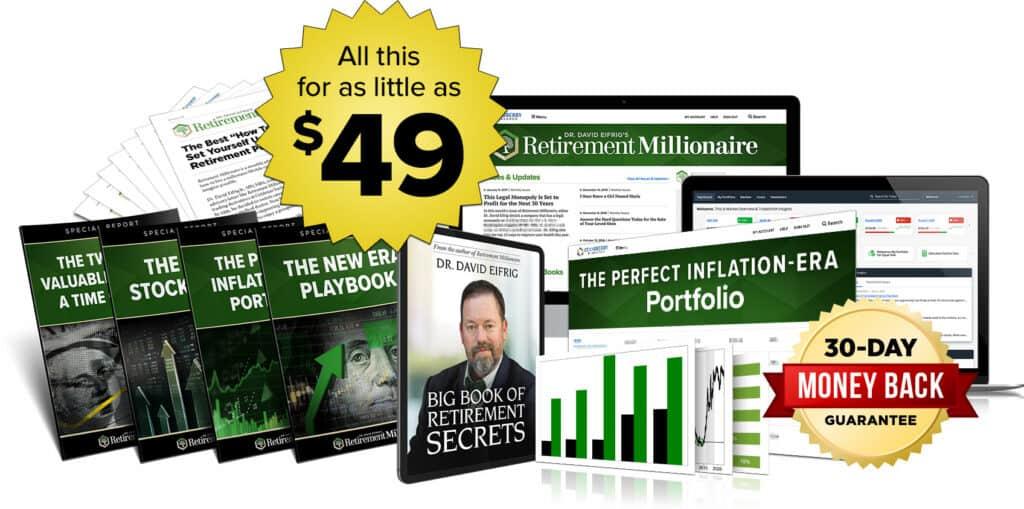 retirement millionaire price