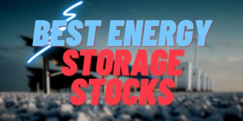 energy storage stocks featured