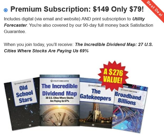 utility forecaster review premium
