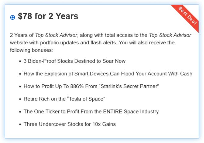 top stock advisor review price