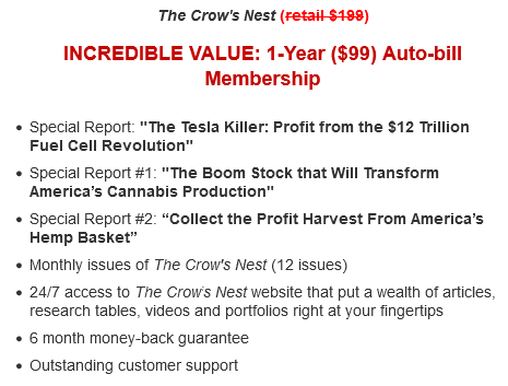 the crows nest review price