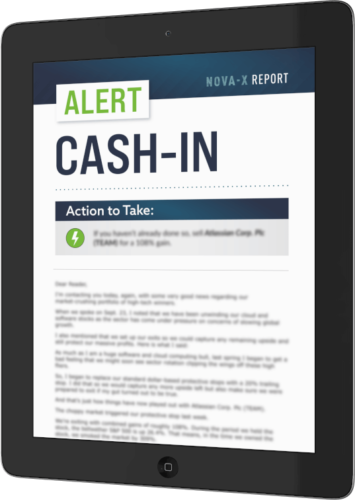 nova x report cash in alert