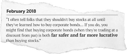 credit opportunities review bonds