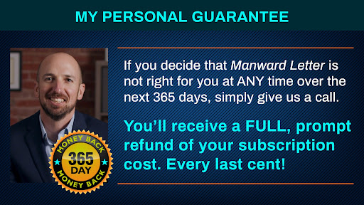 manward letter money back guarantee