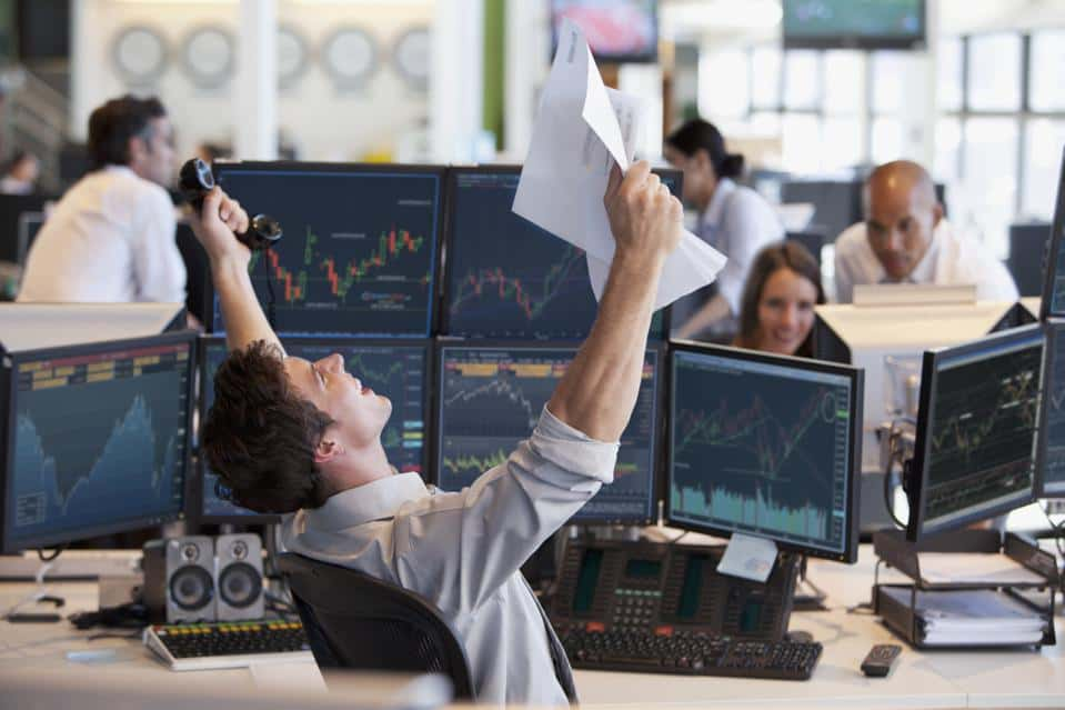 investor celebration